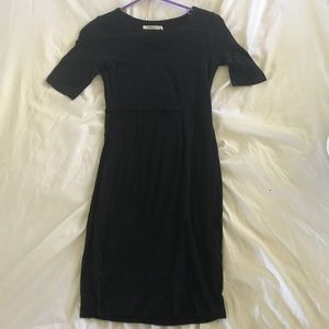 Navy Cut Out Dress - Bailey44